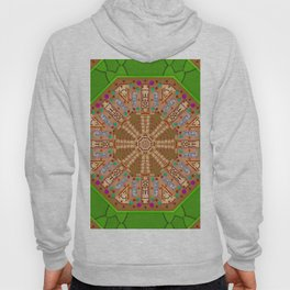 sweet crackers with chocolate mandala Hoody
