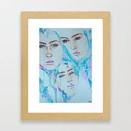 Not for You Framed Art Print