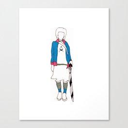 Yuko Canvas Print