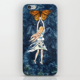 On Borrowed Wings iPhone Skin