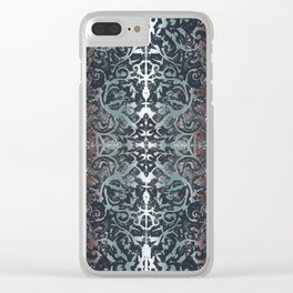 ornamental etching Clear iPhone Case