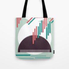 Moustache Mountain Tote Bag