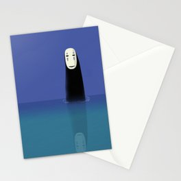 No-Face (Kaonashi) Stationery Cards