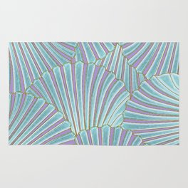 INTO THE DEEP (abstract pattern) Rug