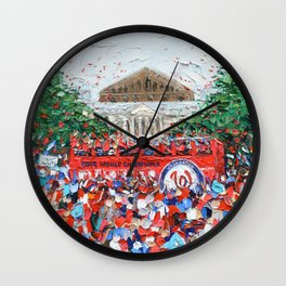 Party Bus Wall Clock