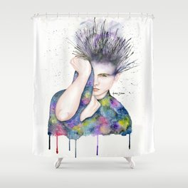 Hidden amongst the stars Shower Curtain