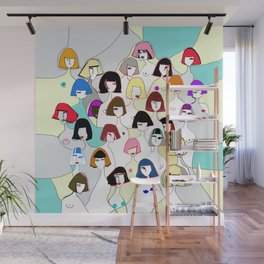 Donne in colours Wall Mural