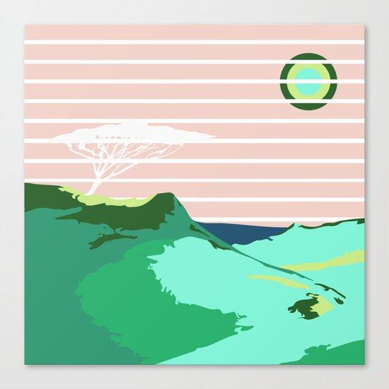 LonelyTree Canvas Print