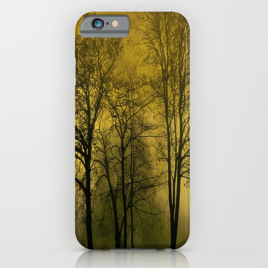 Silhouetted Trees iPhone & iPod Case