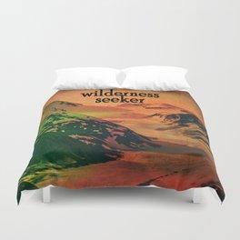 Wilderness Seeker Duvet Cover