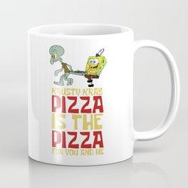 Krusty Krab Pizza Coffee Mug