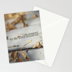 inspired by the world Stationery Cards