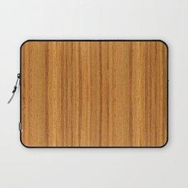 Teak Wood Laptop Sleeve