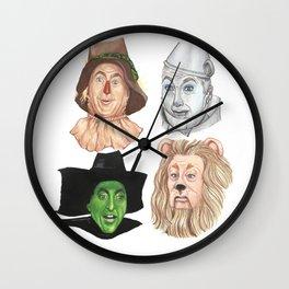 Wizard Oz Wall Clock
