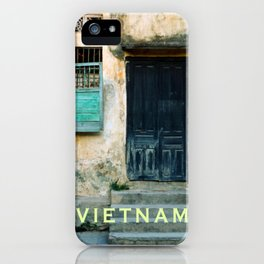 ANTIQUE CHINESE WALL of HOI AN in VIETNAM iPhone Case