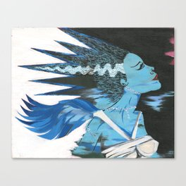 Heart of the Monster Canvas Print