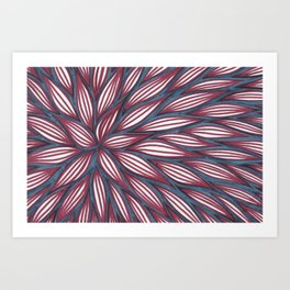Blue Raspberry Art Print