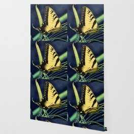 Yellow Tiger Swallowtail Butterfly A125 Wallpaper