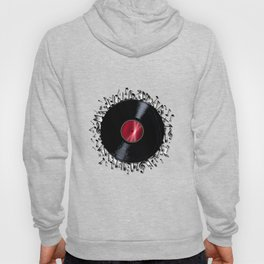 Musical Notes Record Hoody