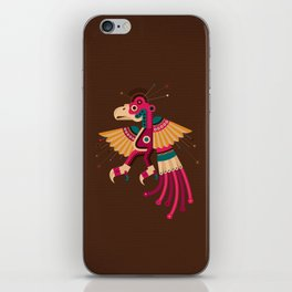 """Chiconcuetzalli"" The Scarlet iPhone Skin"