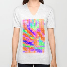 Re-Created Laurels XIII by Robert S. Lee Unisex V-Neck