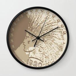 1920 New York Wall Clock