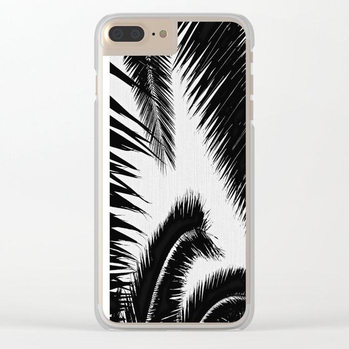 BW Palms Clear iPhone Case