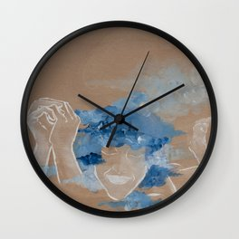 In The Oasis Wall Clock