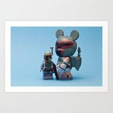 The Fetts Art Print
