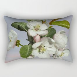 Spade's Apple Blossoms Rectangular Pillow