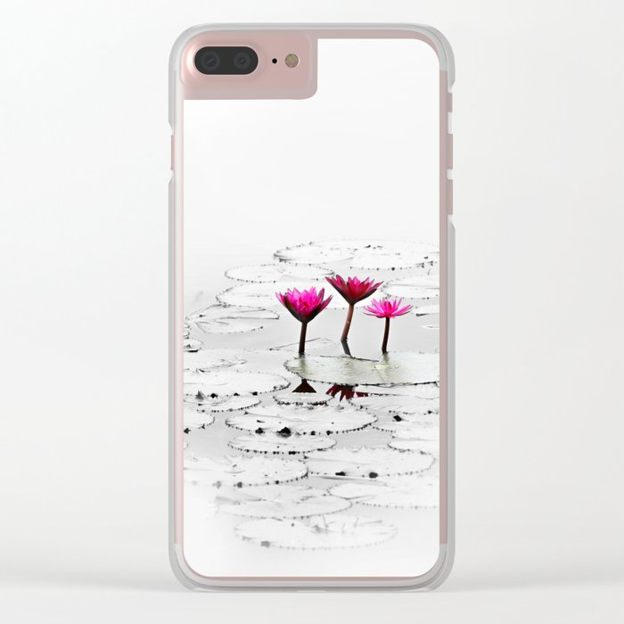lotus Clear iPhone Case