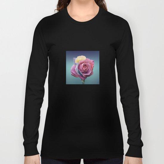rose flower beauty 4 Long Sleeve T-shirt