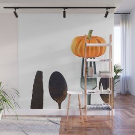 Eat Healthy with Pumpkin Wall Mural