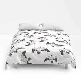 Birds Pattern Photo Collage Comforters