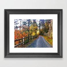 Path 2 Framed Art Print