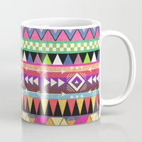 tribal Mugs featuring OVERDOSE by Bianca Green