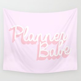 Planner Babe Wall Tapestry