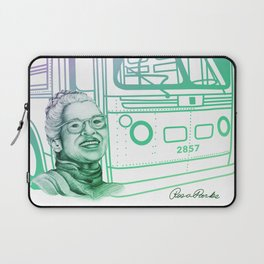 Rosa Parks, Courageous Woman Laptop Sleeve