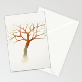 Water Tree Stationery Cards