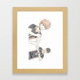 Just Getting Started Framed Art Print