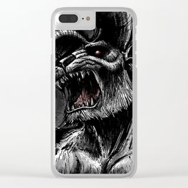 Zodd_BERSERK Clear iPhone Case
