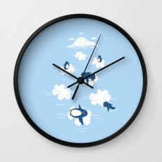 Puzzle Ice  Wall Clock