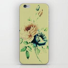 Vinage Roses 7 iPhone Skin