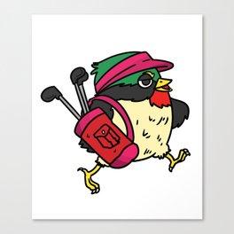 Golf funny Course golfmen Ball Gift Birdie Sport Canvas Print