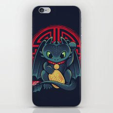 Maneki Dragon iPhone & iPod Skin