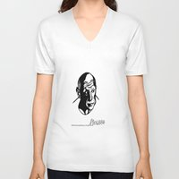 picasso V-neck T-shirts featuring Picasso  by April Delgado / Illustrator