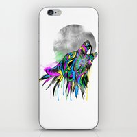 howl iPhone & iPod Skins featuring Howl by Kyle Naylor