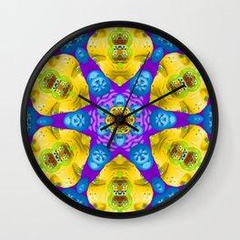 Resurrect Mandala 8 Wall Clock