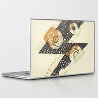 springsteen Laptop & iPad Skins featuring Dj's Lightning by Sitchko Igor