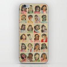 FRIDAY THE THIRTEENTH iPhone & iPod Skin